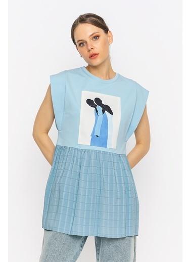 Berr-in Tişört Mavi